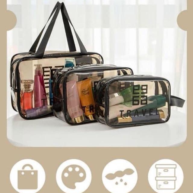 Sét 3 túi đựng mỹ phẩm- quần áo Givenchy Travel