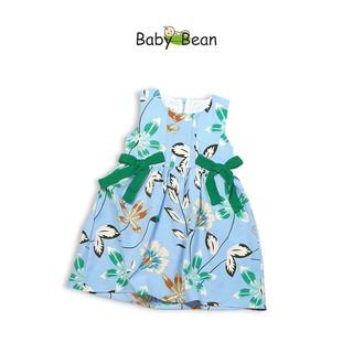 Đầm Lụa Thắt Nơ Eo xinh xắn & dễ thương bé gái BabyBean (20kg - 35kg) thumbnail