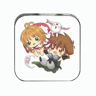 Máy nghe nhạc Tsubasa Reservoir Chronicle cầm tay mini tặng tai nghe cắm dây có mic và dây sạc mp3 anime chibi thumbnail
