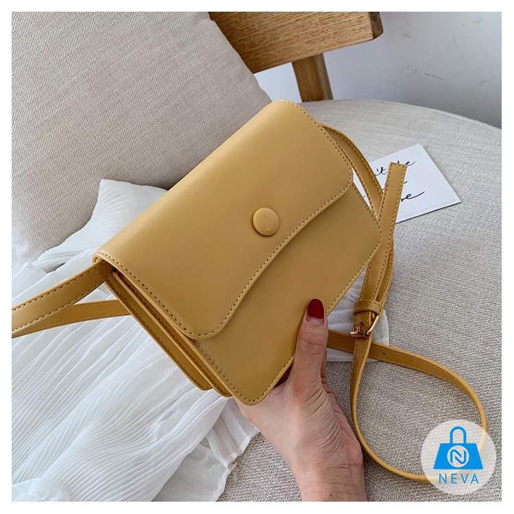 (Mới) Túi đeo chéo cho nữ da cao cấp thanh lịch NEVA531