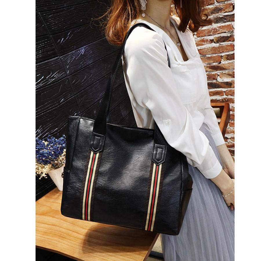 Túi xách nữ công sở bản to da mềm thời trang hàng quảng châu cao cấp -BS1