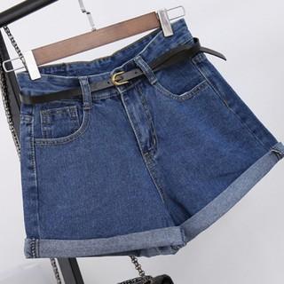 Quần đùi lưng cao có túi dành cho nữ