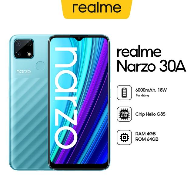 ĐIỆN THOẠI REALME NARZO 30A (4GB/64GB) - HÀNG CHÍNH HÃNG
