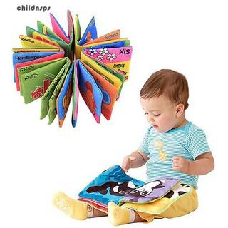 Infant Baby Children Kids Intelligence Development Cloth Book Cognize Book Toys