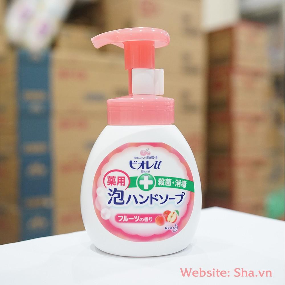 Nước rửa tay Lion Nhật Bản 250ml màu hồng