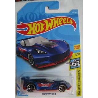 Xe Hot Wheels Corvette C7.R FJY32