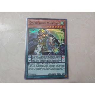 Thẻ bài Yugioh Oafdragon Magician (Near Mint)