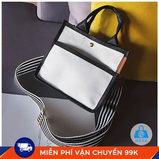 (GIÁ SỐC) Túi vải nữ mini chất vải bố siêu đẹp NEVA033