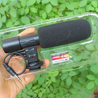 MICRO THU ÂM MIC-01 CHO MÁY ẢNH DSLR – Stereo Microphone
