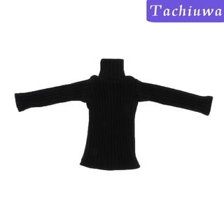 Áo Sweater Cổ Lọ Tỷ Lệ 1: 6 Dành Cho Búp Bê Nữ 12inch
