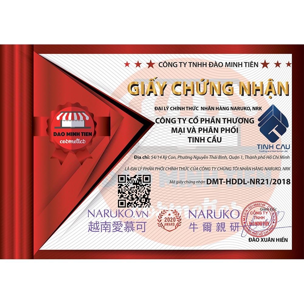 Nước Hoa Hồng 2 Lớp Kiềm Dầu, Làm Sáng Da Chiết Xuất Tràm Trà NARUKO Tea Tree Shine Blemish Clear Mattifying Toner 120ml