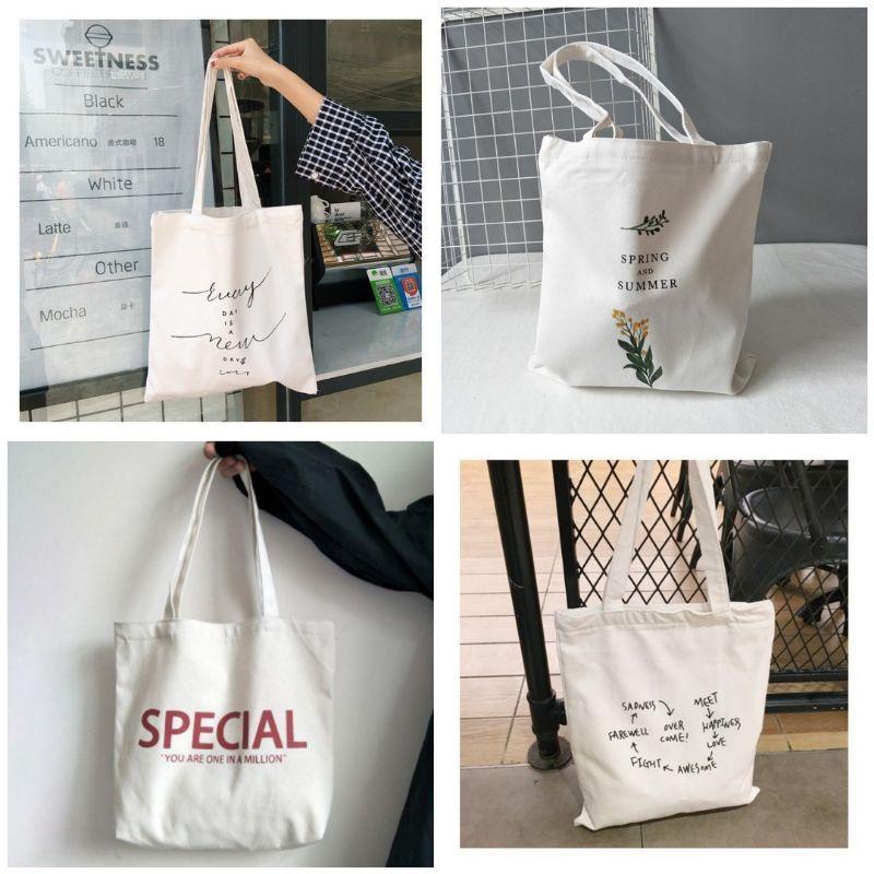 (20 mẫu) Túi tote xinh (có khóa miệng)