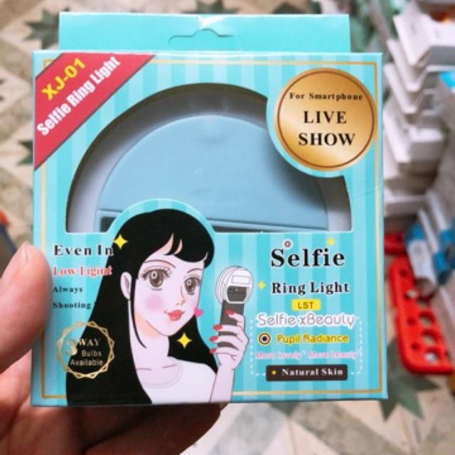 Đèn led tròn chụp ảnh cho điện thoại dạng kẹp Selfie Ring Light RL-36