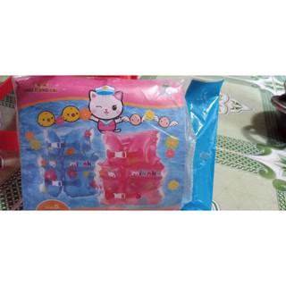 Áo phao bơi Mikoko màu hồng ( 2 -7 tuổi)