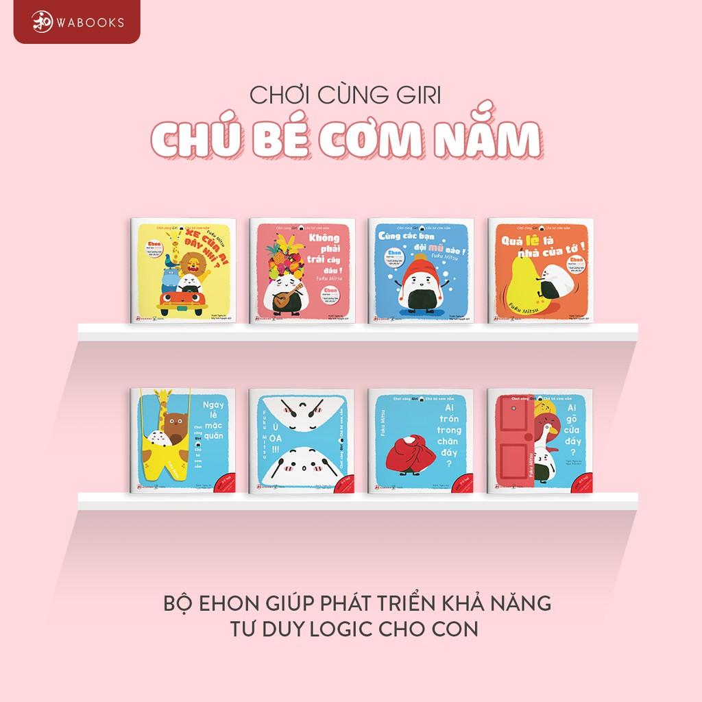 Sách Ehon - Combo 17 cuốn - Âm thanh - Giri - Maru