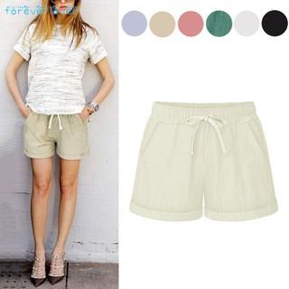 ❀❃✨ Summer Women Wide Leg Shorts Cotton High Waist Drawstring Pockets Girl Casual Shorts Plus