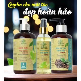 Bộ 3 tinh dầu chăm sóc tóc