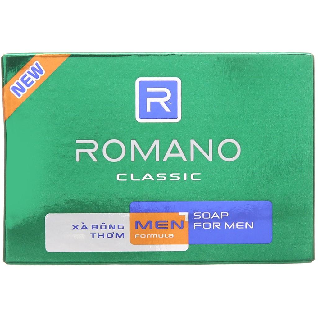 Xà bông thơm Romano Classic 90g