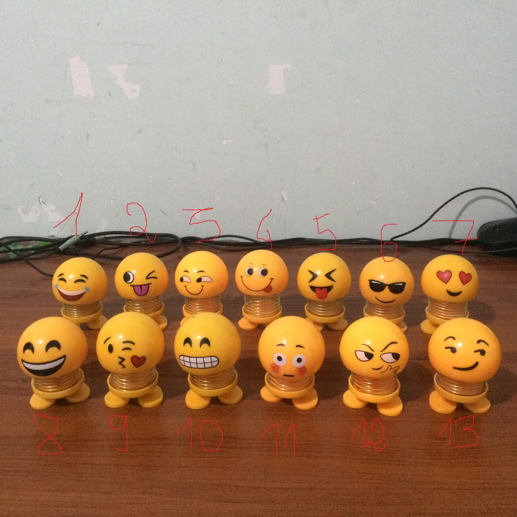 [Rẻ Vô Địch] Thú Nhún Lò Xo Emoji Full Mẫu