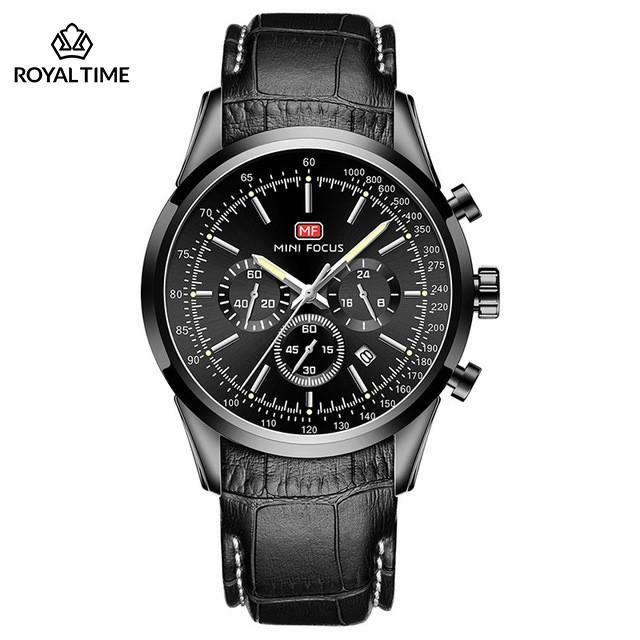 [Tặng vòng tay]Đồng hồ nam Mini Focus chính hãng MF0116G thời trang