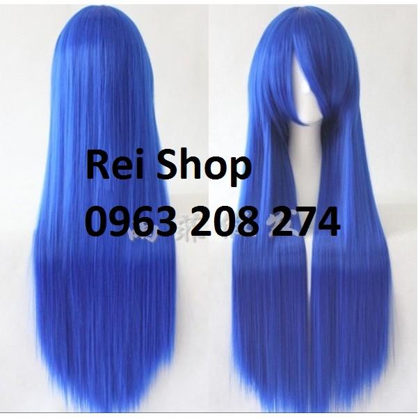 Wig Cosplay tóc giả hóa trang 100cm màu xanh biển đậm mã 1015A-BLUE - 2998114 , 259090384 , 322_259090384 , 200000 , Wig-Cosplay-toc-gia-hoa-trang-100cm-mau-xanh-bien-dam-ma-1015A-BLUE-322_259090384 , shopee.vn , Wig Cosplay tóc giả hóa trang 100cm màu xanh biển đậm mã 1015A-BLUE