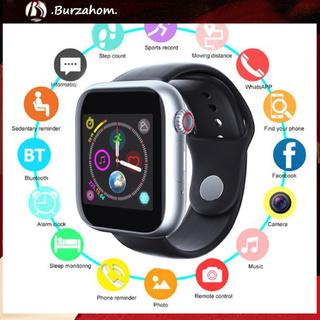 IPHONE ANDROID Bộ Đồng Hồ Thông Minh Bluetooth 2g Hỗ Trợ Thẻ Tf 2.0mp Kèm Phụ Kiện