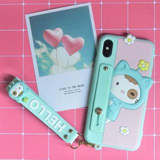 Ốp lưng điện thoại Iphone chính hãng Lofter mèo xanh Hello X XS XSMAX, 11 (kèm dây đeo ngắn Hello) thumbnail