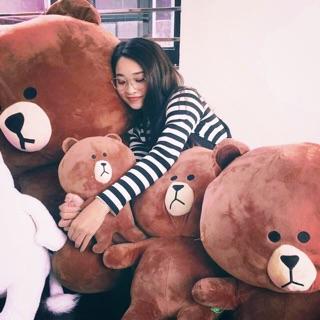 Gấu Brown (Ảnh tự chụp)