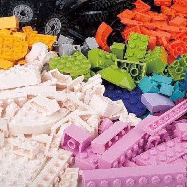 Bộ xếp hình lego enli 460 miếng 160k