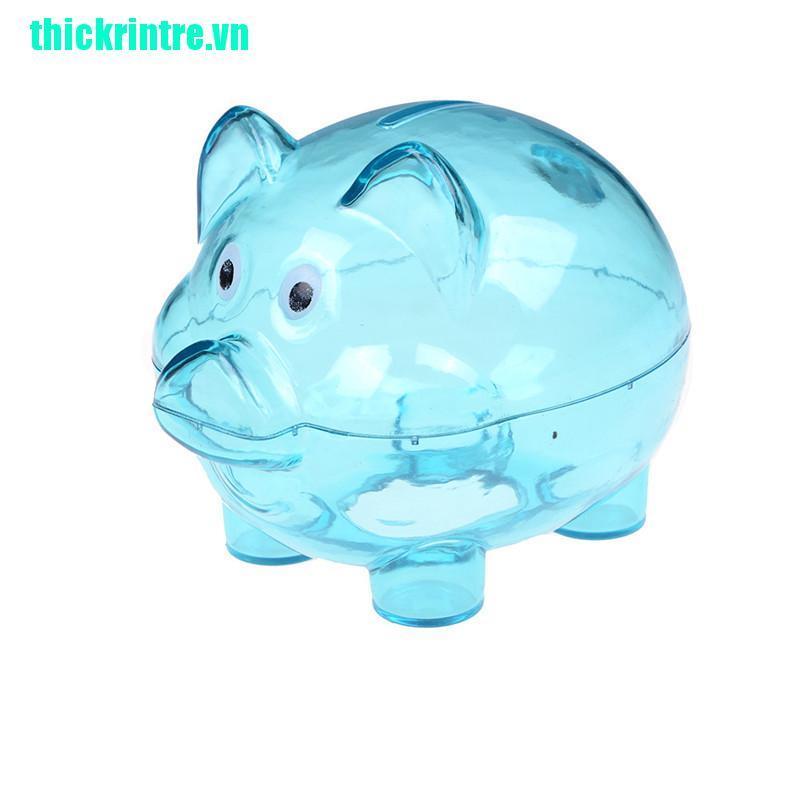 Hộp Tiết Kiệm Tiền Hình Heo Cho Bé