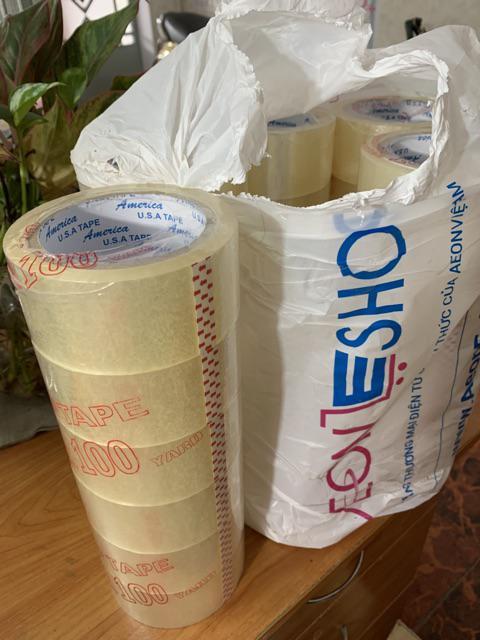 Băng keo 1kg 6 cuộn tại Nam Long