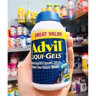 Viên Uống Advil_Liqui-Gels 200 Viên