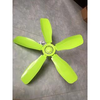 Quạt trần mini ( quạt treo màn, quạt mùng) 5 cánh nhựa Hong Ying 955