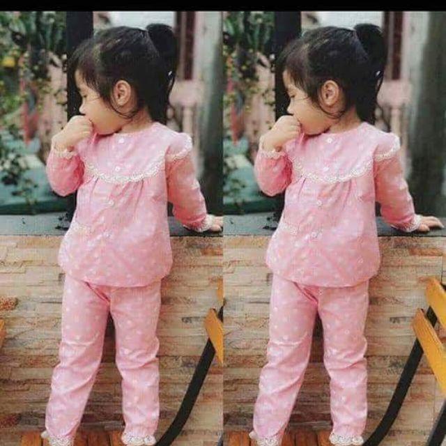 Combo bộ đồ bé gái