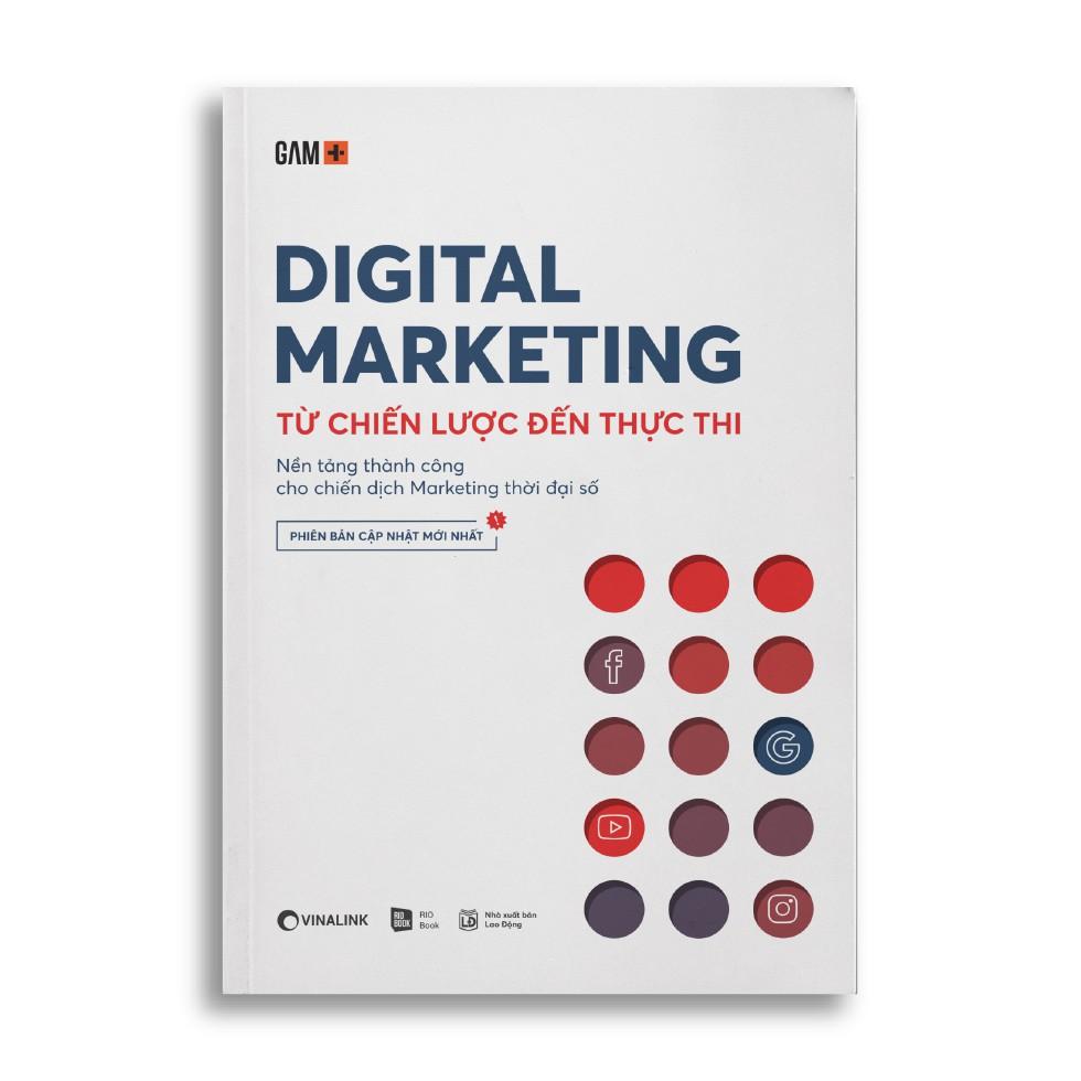 Sách - Digital Marketing - Từ Chiến Lược Đến Thực Thi
