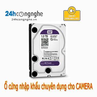 Ổ cứng HDD 1TB - Ổ cứng HDD 1TB WD (tím) chuyên camera chính hãng tem Vĩnh Xuân thumbnail