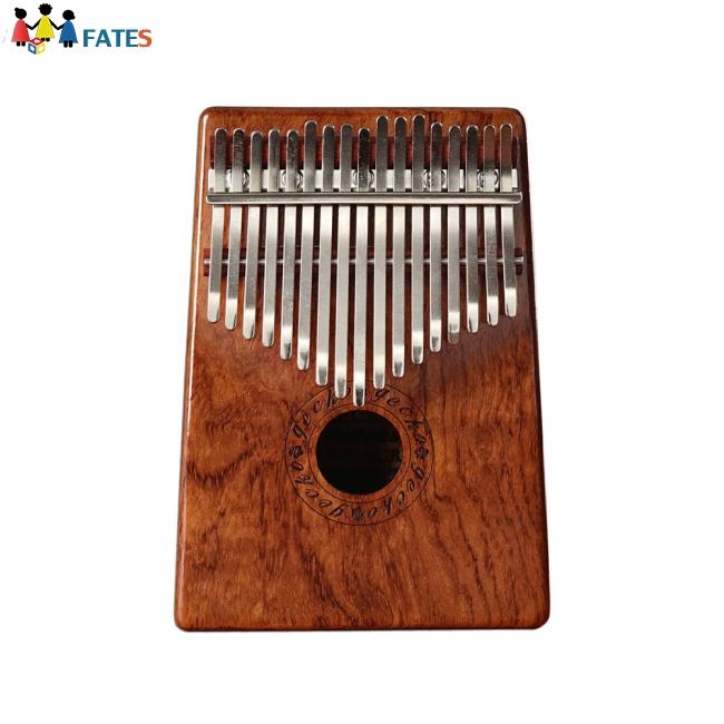 17 Keys Kalimba Rosewood Portable Thumb Piano with Box Bag Tuner Hammer Musical Instruments