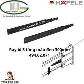 Ray bi 3 tầng màu đen 300mm 494.02.071,072,073,074