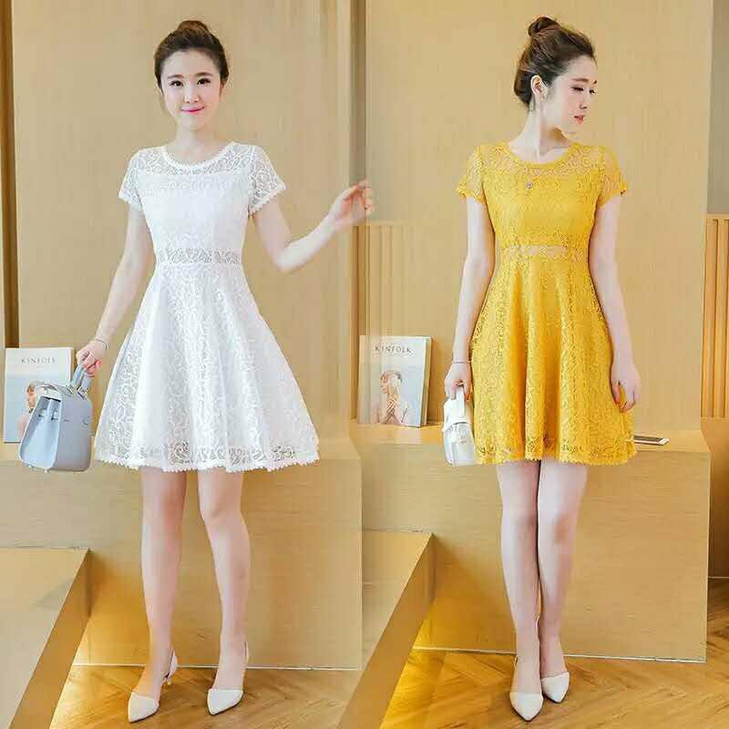 Váy ren QC đáng yêu