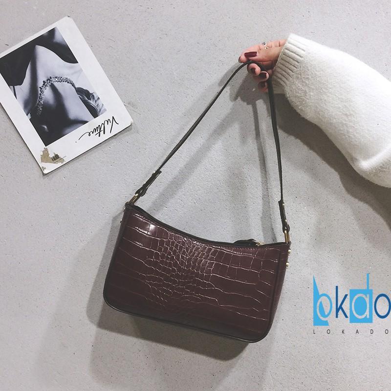 Túi xách nữ cỡ nhỏ LOKADO đeo vai thời trang cao cấp HY002