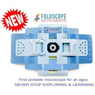 [HOT] Kính hiển vi Foldscope – Có gói kèm đèn Led