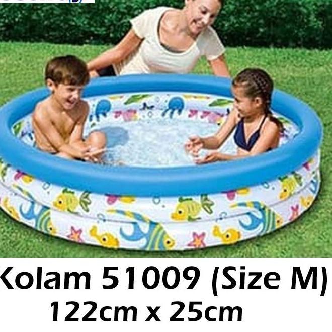 ̄➬ Hồ bơi hình san hô kích thước 102cm và 122cm cho bé