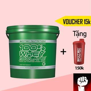 Whey Whey Protein Isolate Scitec - Sữa Tăng Cơ Không Tăng Mỡ 4kg - Chính Hãng - Muscle Fitness thumbnail