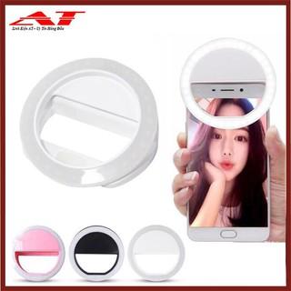 Đèn selfie Ring light cho điện thoại sạc điện TẶNG KÈM DÂY SẠC thumbnail