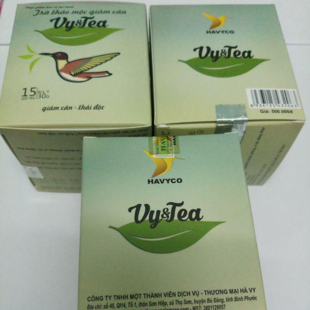 Trà thảo mộc giảm cân Vy & tea - 3155831 , 323161054 , 322_323161054 , 260000 , Tra-thao-moc-giam-can-Vy-tea-322_323161054 , shopee.vn , Trà thảo mộc giảm cân Vy & tea