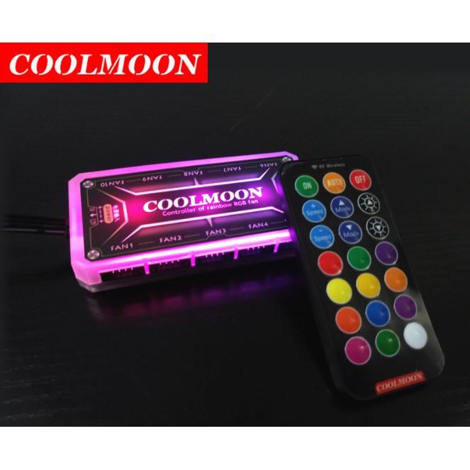 Giá đỡ card vga có led Rgb đồng bộ Hub Coolmon
