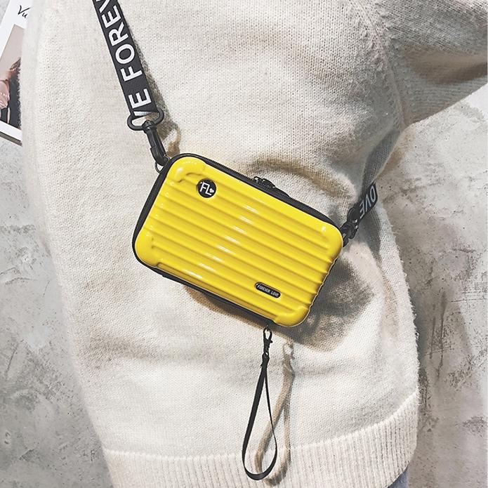 Túi đeo chéo hình vali mini thời trang trẻ trung cho nữ