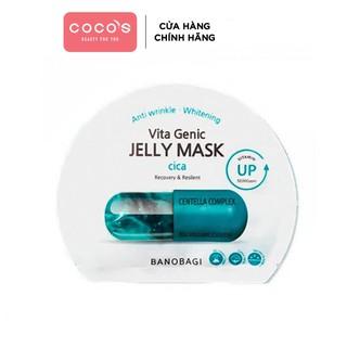 Mặt Nạ Dưỡng Da Banobagi Vita Jelly Mask Cica 2020 30ml - [BANOBAGI XANH THẨM] thumbnail