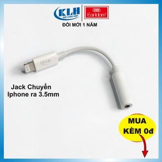 Jack chuyển tai nghe Lightning ra chân tròn 3.5mm tương thích iphone 5 6 7 x 11 kết nối Bluetooth hỗ trợ mic