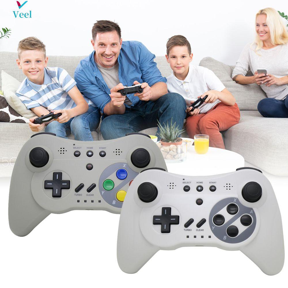 Điều Khiển Chơi Game Không Dây Chuyên Dụng Cho Nintendo Wii U Pro tại Nước  ngoài
